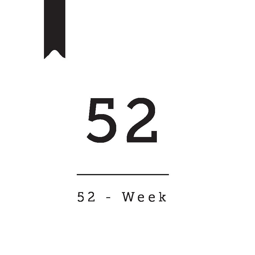 52 Weeks Bible reading plan