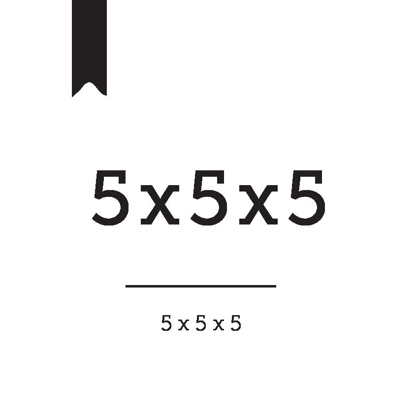 5x5x5 Bible reading plan